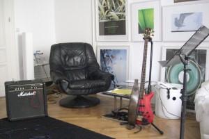 Bass-Unterrichtsraum